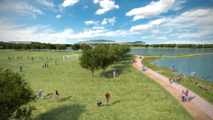 Heathrow Green Spaces CGI 2