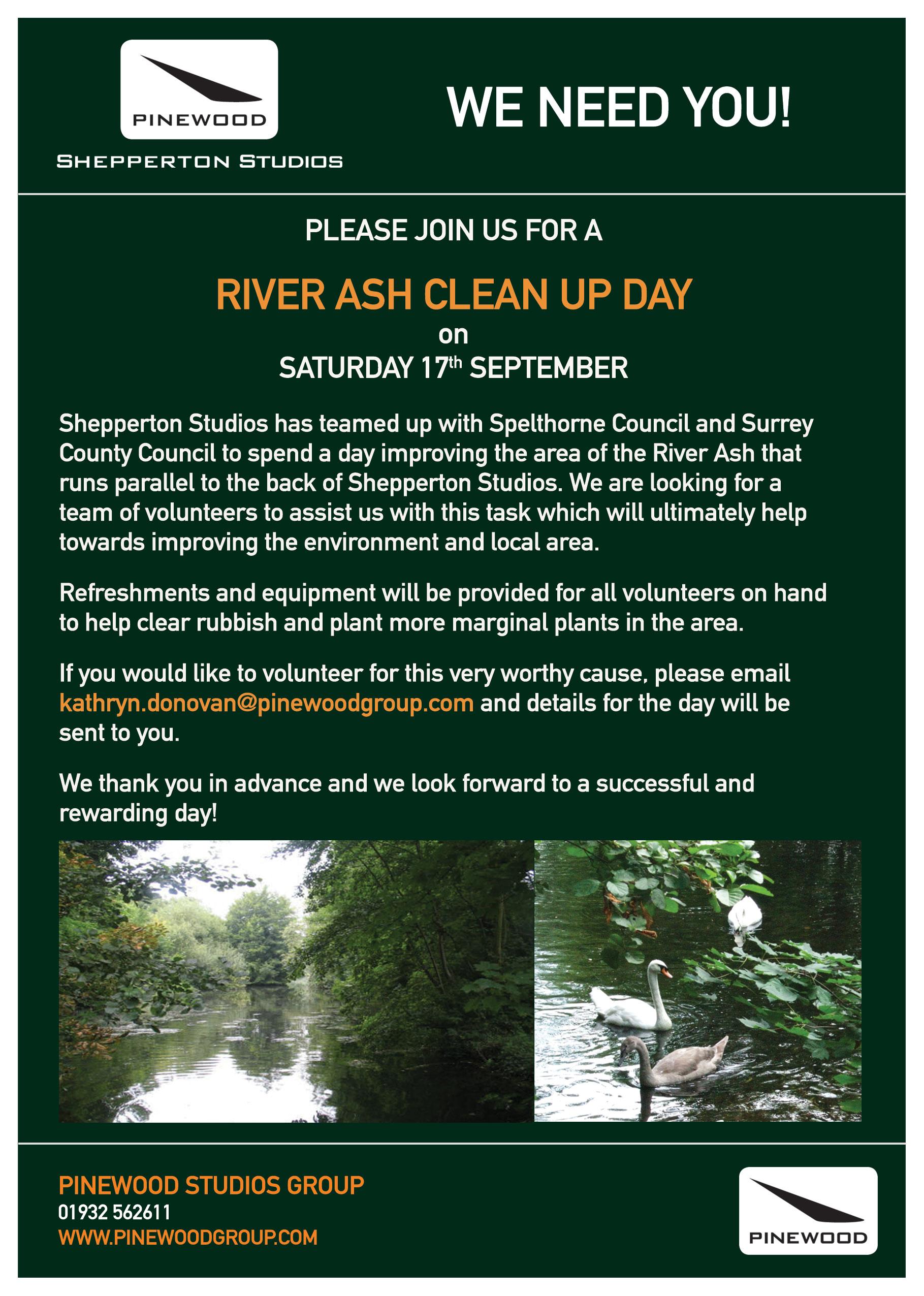 River, Ash, Clean